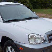 Hyundai Sante Fe (WHITE)